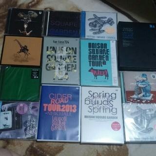 ユニゾンスクエアガーデン(UNISON SQUARE GARDEN)のunison square garden DVD CD バラ売り可(ミュージック)