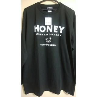 ハニーシナモン(Honey Cinnamon)のハニーシナモン シナモンロゴロンT(Tシャツ(長袖/七分))