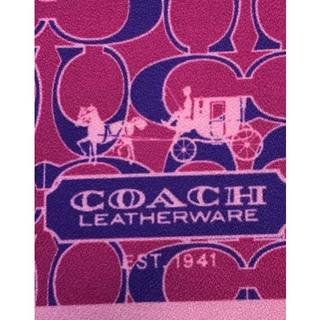 コーチ(COACH)の未使用品●MISS×COACH●コラボ風呂敷 スカーフ(その他)