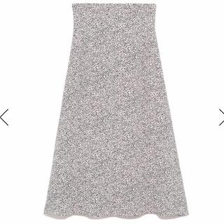 フレイアイディー(FRAY I.D)のアニマルドットプリントスカート ナツミカンサン専用(ロングスカート)