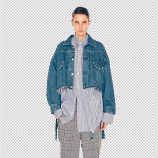 ジョンローレンスサリバン(JOHN LAWRENCE SULLIVAN)のneonsign ネオンサイン  denim jacket (Gジャン/デニムジャケット)
