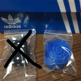 アディダス(adidas)のリレースロー 替え紐(ブルーのみ)(その他)