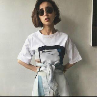アメリヴィンテージ(Ameri VINTAGE)のAmeri   VINTAGE   大人気Tシャツ スカーフ(Tシャツ(半袖/袖なし))