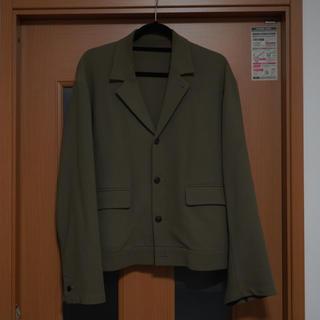 コモリ(COMOLI)のURU コットンショートジャケット 2018AW(テーラードジャケット)