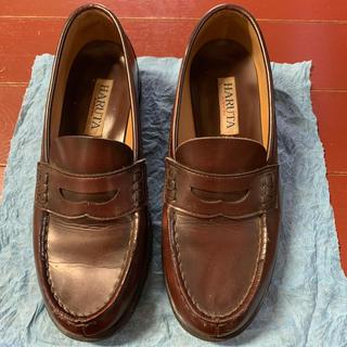 ハルタ(HARUTA)のハルタ ローファー 24.5(ローファー/革靴)