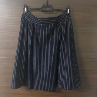ナノユニバース(nano・universe)のナノユニバース★ストライプスカート★サイズフリー(ひざ丈スカート)