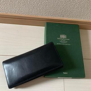 ホワイトハウスコックス(WHITEHOUSE COX)のWhiteHouseCox 長財布(長財布)