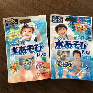 ユニチャーム(Unicharm)の水遊びパンツ 5枚セット(水着)