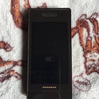 エヌティティドコモ(NTTdocomo)のドコモ N-04A amadana(携帯電話本体)