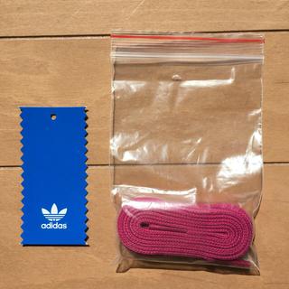 アディダス(adidas)の靴紐 ピンク(その他)
