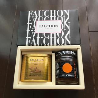 FAUCHON ダージリンとマーマレードセット(茶)