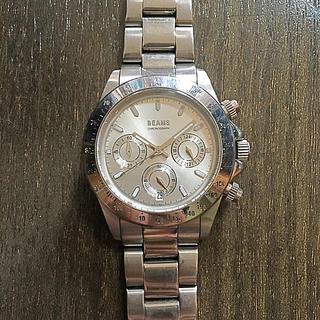 ビームス(BEAMS)のBEAMS chronograph 腕時計(腕時計(アナログ))
