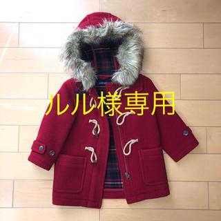 ラルフローレン(Ralph Lauren)のラルフローレン 95cm 赤いダッフルコート(コート)