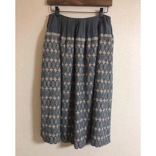 ミナペルホネン(mina perhonen)のミナペルホネン  tarte スカート 38(ひざ丈スカート)