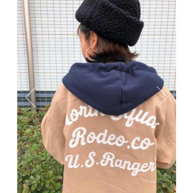 RODEO CROWNS WIDE BOWL(ロデオクラウンズワイドボウル)のロデオクラウンズ ミリタリー  ワンピース レディースのジャケット/アウター(ミリタリージャケット)の商品写真