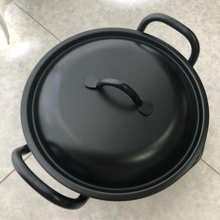 新品❤深型揚げ鍋20cm❤鉄なべ流❤サミット工業(鍋/フライパン)