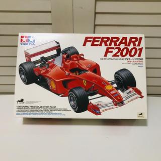 フェラーリ(Ferrari)のタミヤ模型 フェラーリF2001 1/20 ferarri プラモデル(模型/プラモデル)