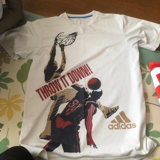 adidas - 【最終値下げ】バスケ tシャツ mサイズ