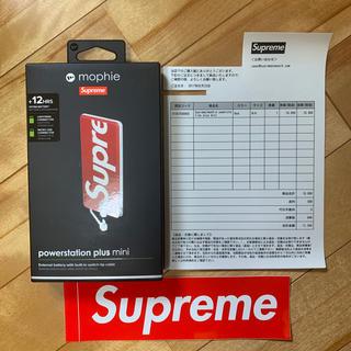 シュプリーム(Supreme)のオンライン購入 中古 Supreme mophie モバイルバッテリー (バッテリー/充電器)