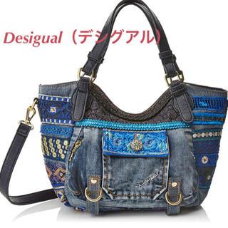 デシグアル(DESIGUAL)の新品♡定価13900円 デシグアル デニム スパンコール✨バッグ 大特価❣(ショルダーバッグ)