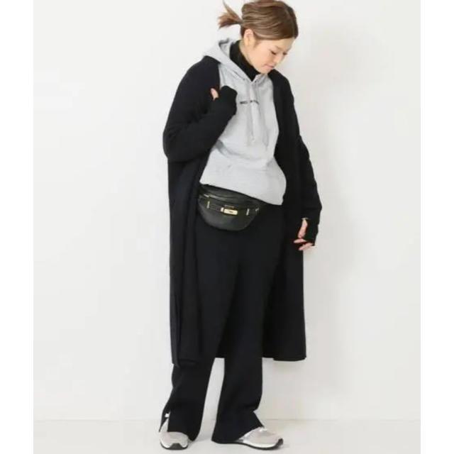 DEUXIEME CLASSE(ドゥーズィエムクラス)のドゥーズィエムクラス スムースニット ガウン コート レディースのジャケット/アウター(ニットコート)の商品写真