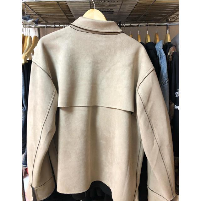 FEAR OF GOD(フィアオブゴッド)の最終値下げ!URKOOL スエードジャケット メンズのジャケット/アウター(ブルゾン)の商品写真