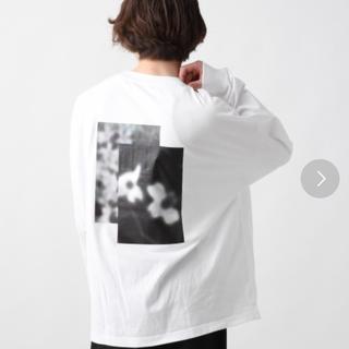 ハレ(HARE)の大人気商品 HARE バックプリント ロンT(Tシャツ/カットソー(七分/長袖))