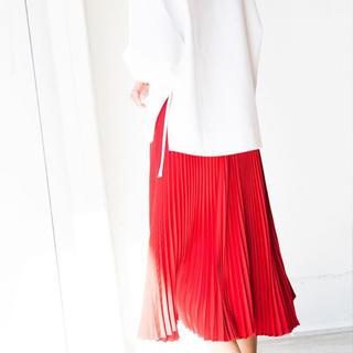 ハイク(HYKE)のれもん様専用【新品タグ付き】HYKE プリーツスカート size:2(ロングスカート)
