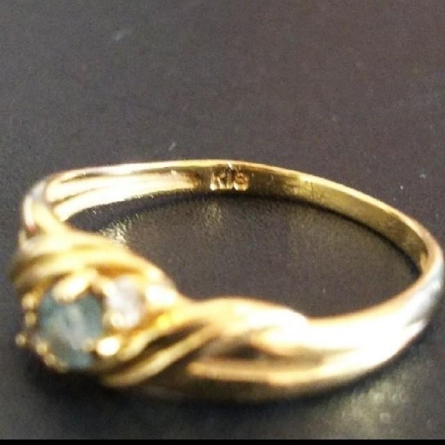 JEWELRY TSUTSUMI(ジュエリーツツミ)のK18 デザインリング レディースのアクセサリー(リング(指輪))の商品写真