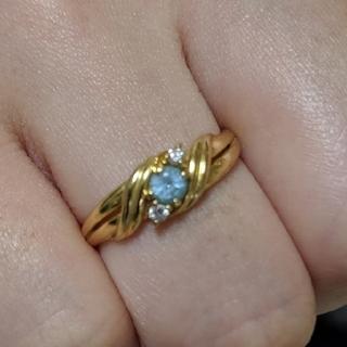 ジュエリーツツミ(JEWELRY TSUTSUMI)のK18 デザインリング(リング(指輪))