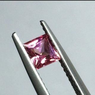 超激レア!!! 色石、宝石 ルース  天然 パパラチア サファイア 0.761c(その他)