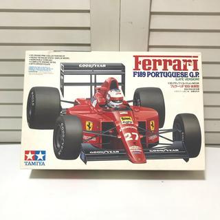 フェラーリ(Ferrari)のタミヤ模型 フェラーリF189 後期 1/20 ferarri プラモデル(模型/プラモデル)
