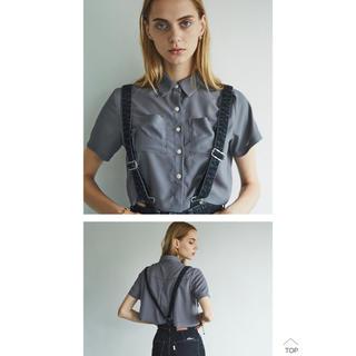 シールームリン(SeaRoomlynn)のjuemi Godard Short Chiffon Shirt(シャツ/ブラウス(長袖/七分))