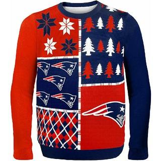新品 NFL PATRIOTS ペイトリオッツ ブロックセーター L