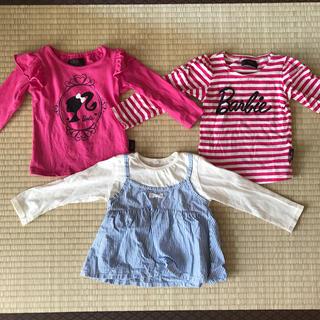バービー(Barbie)のロンT3枚組(Tシャツ/カットソー)