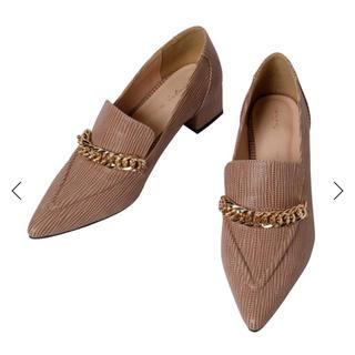 エイミーイストワール(eimy istoire)のeimy グレインチェーンローファー(ローファー/革靴)