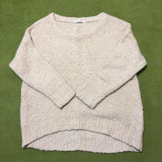ローリーズファーム(LOWRYS FARM)のもこもこセーター オフホワイト M 白 かわいい(ニット/セーター)