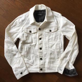 バーバリーブラックレーベル(BURBERRY BLACK LABEL)のバーバリーブラックレーベル☆ホワイトジャケット(Gジャン/デニムジャケット)