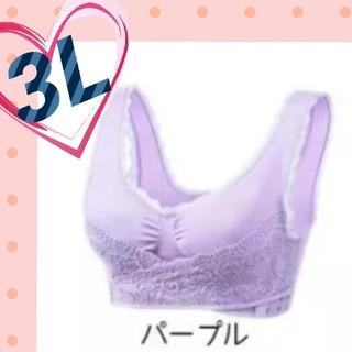 送料無料♪新品☆3L ナイトブラ 育乳  日中やスポーツの時のブラ 大きいサイズ(ブラ)