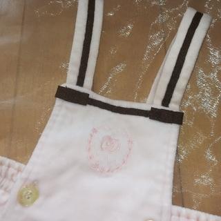 ベビーディオール(baby Dior)の【ベビーディオール】12M80ワンピースドレスベロアセリーヌ好き誕生日クリスマス(セレモニードレス/スーツ)