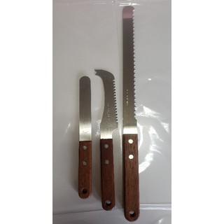 バターナイフ/チーズカッター/パンスライサー 3本セット(調理道具/製菓道具)