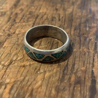 インディアンジュエリー vintage シルバーリング ターコイズ (リング(指輪))