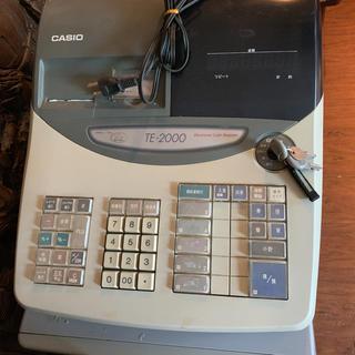 CASIO - CASIO TE-2000 レジスター