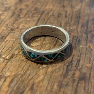 インディアンジュエリー vintage シルバーリング ターコイズ(リング(指輪))