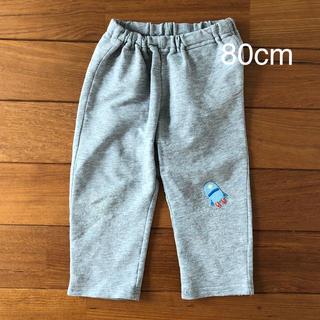 ムジルシリョウヒン(MUJI (無印良品))のMUJI 無印良品 パンツ ズボン  80cm グレー(パンツ)