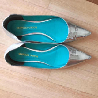 ロデオクラウンズ(RODEO CROWNS)のロデオクラウンズ パンプス フラットシューズ ミュール サンダル ぺたんこ靴(ハイヒール/パンプス)