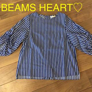 ビームス(BEAMS)のBEAMS HEART♡トップス(カットソー(長袖/七分))