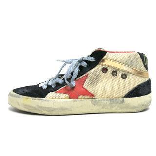 ゴールデングース(GOLDEN GOOSE)のGOLDEN GOOSE MID/STAR Net Sneakers スニーカー(スニーカー)