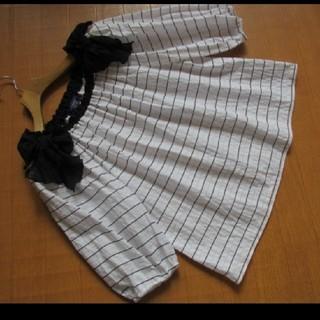 エムズグレイシー(M'S GRACY)のエムズグレイシートップス(カットソー(半袖/袖なし))
