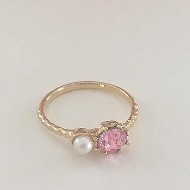 ピンキーリング  指輪 レディースのアクセサリー(リング(指輪))の商品写真